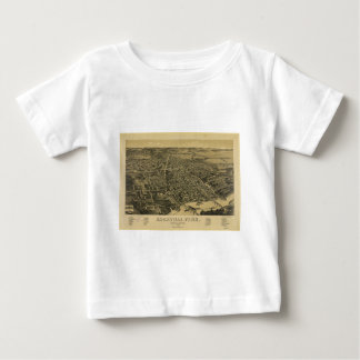 Aerial View Of Knoxville Tennessee from 1886 Baby T-Shirt