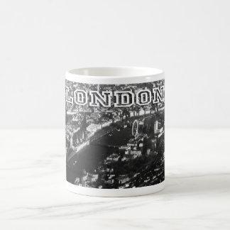 Aerial view of London Classic White Coffee Mug