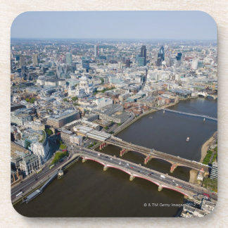 Aerial View of London Drink Coaster