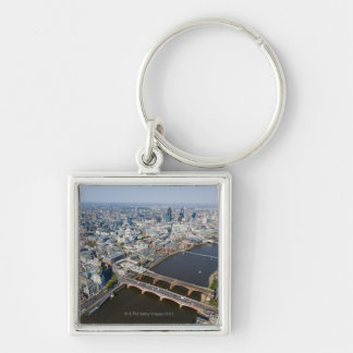 Aerial View of London Keychain