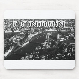 Aerial view of London Mouse Pad