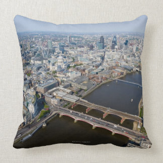 Aerial View of London Pillow