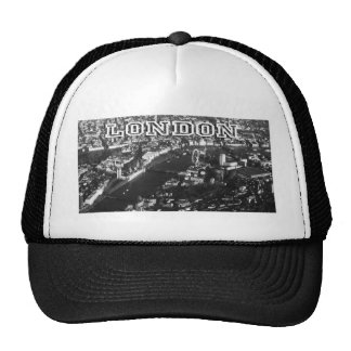 Aerial view of London Trucker Hat