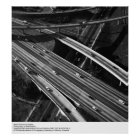 Aerial View of Los Angeles by Ansel Adams Poster