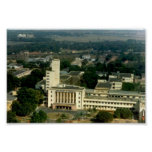 Aerial View of Main Building Poster
