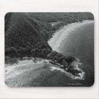 Aerial view of Makena Beach, Maui, Hawaii Mouse Pad