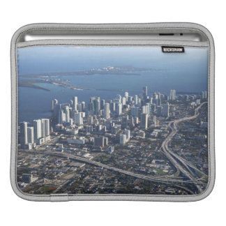 Aerial view of Miami iPad Sleeves