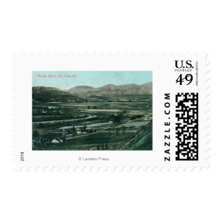 Aerial View of Mission ValleySan Diego, CA Stamps