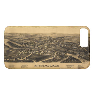 Aerial View of Mittineague, Massachusetts (1889) iPhone 7 Plus Case