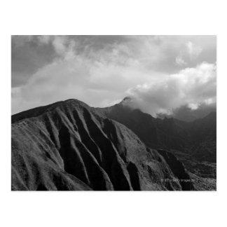 Aerial view of mountain, Maui, Hawaii Postcard