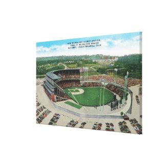 Aerial View of New Milwaukee County Stadium Canvas Print