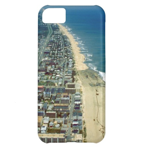 Aerial View of Ocean City iPhone 5C Covers