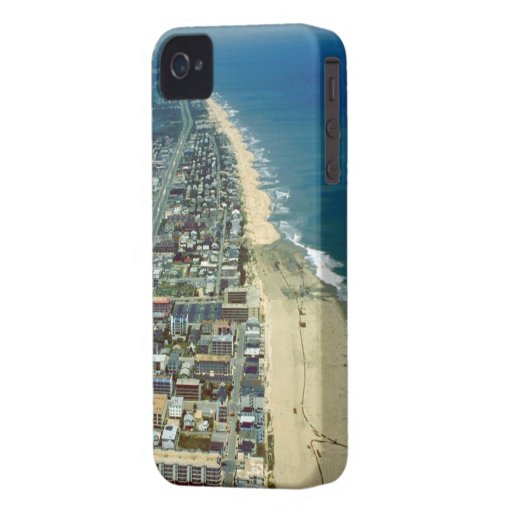 Aerial View of Ocean City iPhone 4 Case-Mate Case