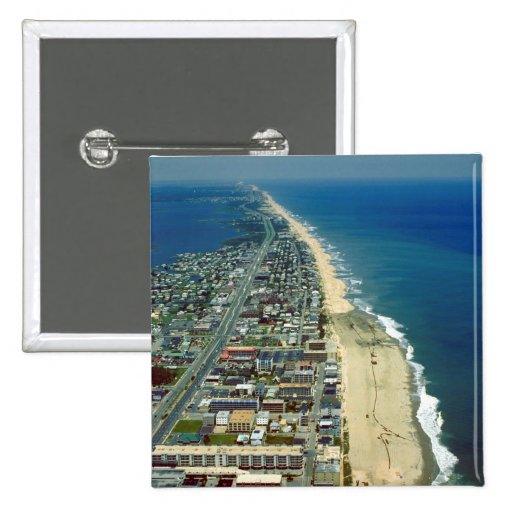 Aerial View of Ocean City Maryland Pin