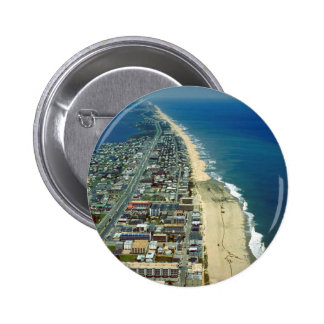 Aerial View of Ocean City Maryland Button