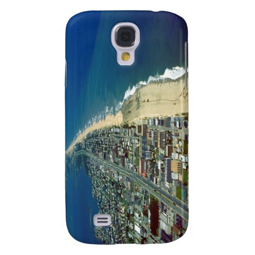 Aerial View of Ocean City Maryland Samsung Galaxy S4 Cases