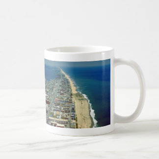 Aerial View of Ocean City Maryland Classic White Coffee Mug