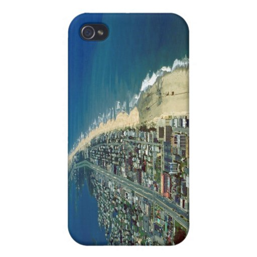 Aerial View of Ocean City Maryland iPhone 4/4S Cover