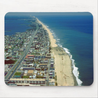 Aerial View of Ocean City Maryland Mouse Pad