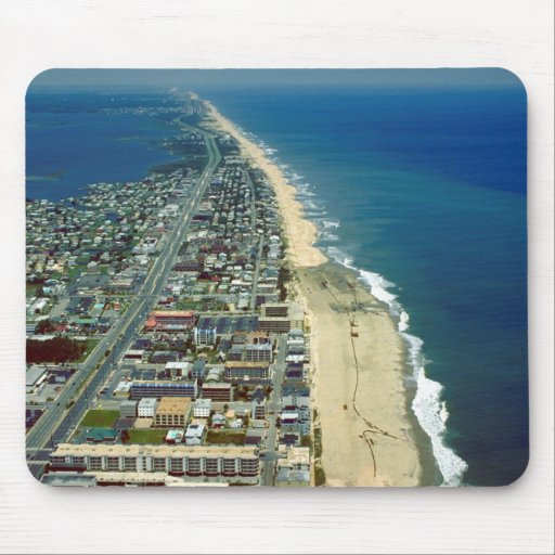 Aerial View of Ocean City Maryland Mousepad