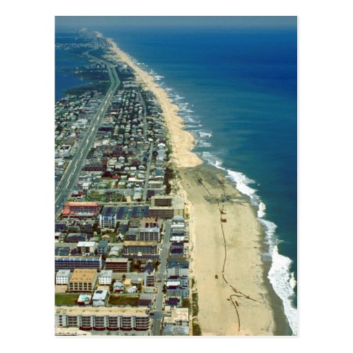 Aerial View of Ocean City Maryland Postcards