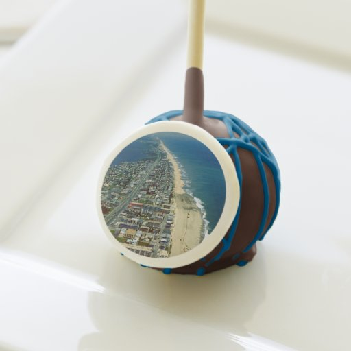 Aerial View of Ocean City Maryland Cake Pops