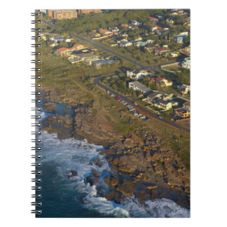 Aerial View Of Orange Rock, South Coast Notebook