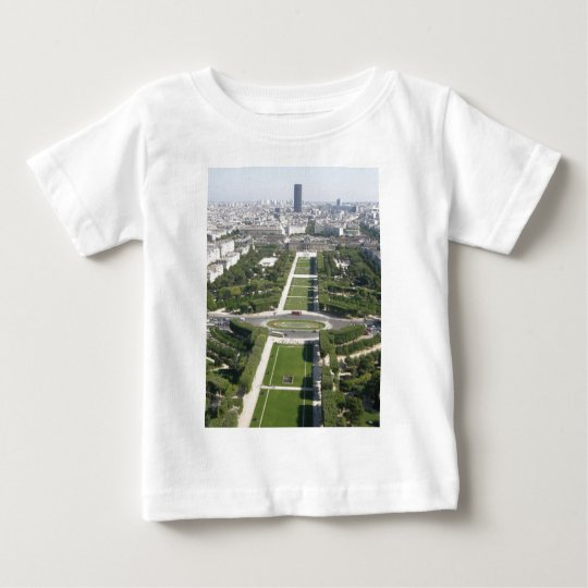 Aerial View of Paris Baby T-Shirt