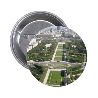 Aerial View of Paris Buttons