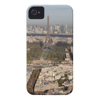 AERIAL VIEW OF PARIS iPhone 4 CASE