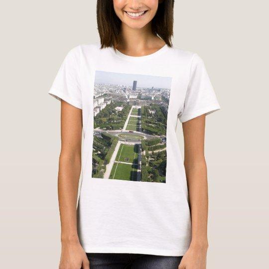 Aerial View of Paris T-Shirt
