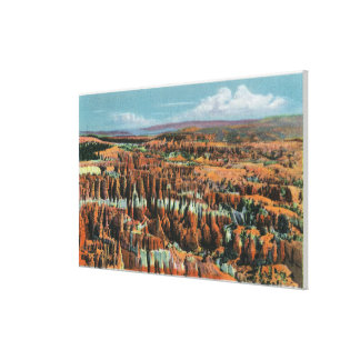 Aerial View of Park from Inspiration Point Canvas Print
