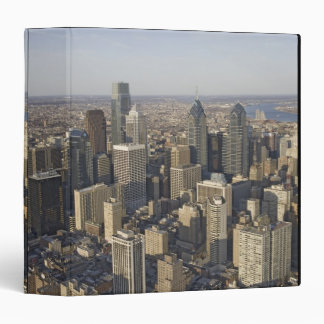 Aerial view of Philadelphia, Pennsylvania Binders