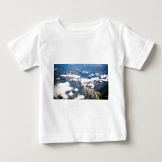 Aerial View of Rocky Mountains Baby T-Shirt
