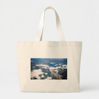 Aerial View of Rocky Mountains Tote Bag