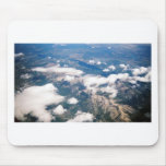 Aerial View of Rocky Mountains Mouse Pads