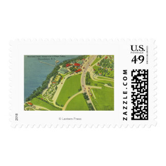 Aerial View of Roseland Park Postage Stamps