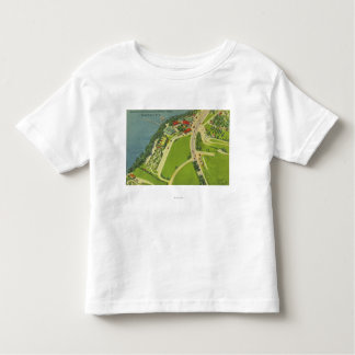 Aerial View of Roseland Park Toddler T-shirt