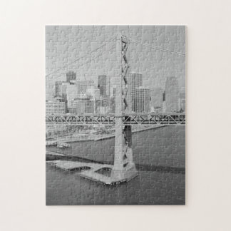Aerial View of San Francisco Oakland Bay Bridge Jigsaw Puzzle