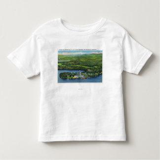 Aerial View of Saranac Inn T Shirt