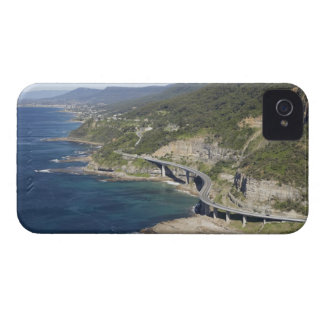 Aerial view of Sea Cliff Bridge near Wollongong, 2 iPhone 4 Case