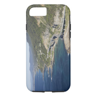 Aerial view of Sea Cliff Bridge near Wollongong, 2 iPhone 7 Case