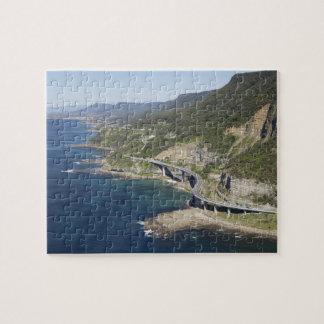 Aerial view of Sea Cliff Bridge near Wollongong, 2 Jigsaw Puzzle