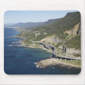 Aerial view of Sea Cliff Bridge near Wollongong, 2 Mouse Pad