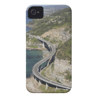 Aerial view of Sea Cliff Bridge near Wollongong, iPhone 4 Case-Mate Cases