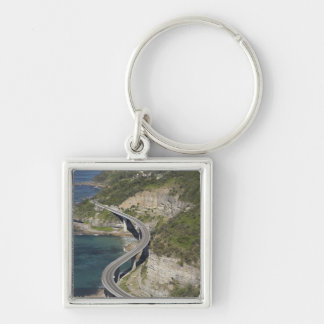 Aerial view of Sea Cliff Bridge near Wollongong, Keychain