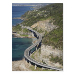 Aerial view of Sea Cliff Bridge near Wollongong, Postcard