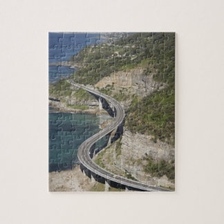 Aerial view of Sea Cliff Bridge near Wollongong, Puzzle