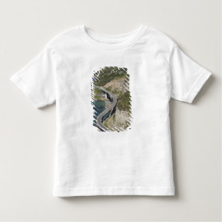 Aerial view of Sea Cliff Bridge near Wollongong, Toddler T-shirt