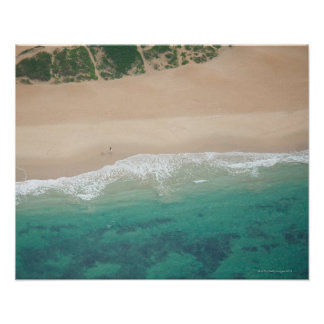 Aerial view of Sea view Beach, Port Elizabeth, Posters